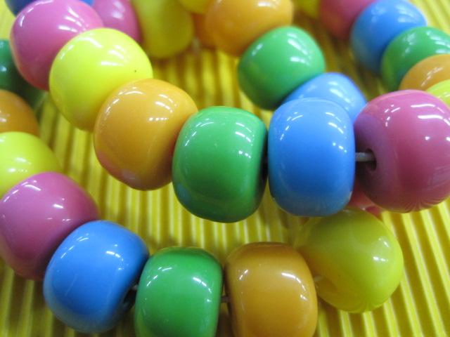 Plastične perle/okrugle