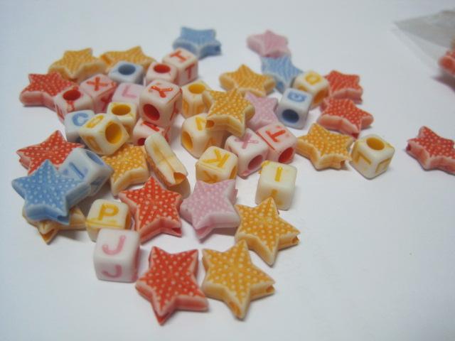 Plastične perle-acrylic