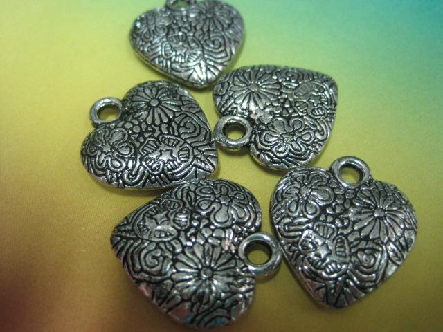 Plastične perle-Antique srebrna