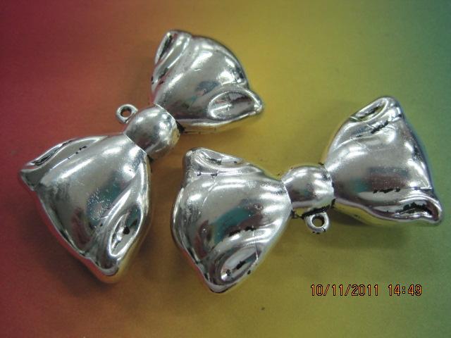 Plastične perle-metalizirane